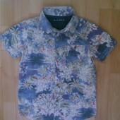 Фирменная рубашка 7-8 лет