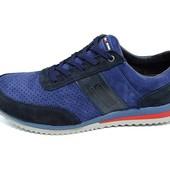 Мужские кроссовки с перфорацией Multi Shoes Nintendo синие