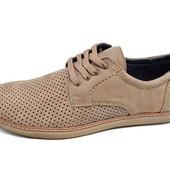 Мужские мокасины с перфорацией Multi Shoes Ra2