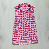 Яркая блуза для девочки. Nutmeg. Размер 8-9 лет. Состояние: новой вещи
