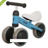 Детский беговел Bike MT-04 колеса eva+кож сиденье,голубой