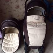 Универсальная коляска Tutis Zippy New Leather(кожа) 2 в 1, в идеальном состоянии.