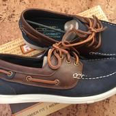 Мужские туфли кожа Скечерс 10р 42-43 размер оригинал