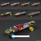 Скейт-Пенни борд абстракция 822, без света
