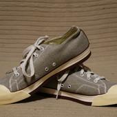 Стильные фирменные кеды из канваса серого цвета Keen  США. 40 р.