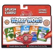 Melissa&Doug Многоразовая водная раскраска алфавит и животные go water wow!alphabet and animals