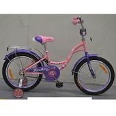 Велосипед двухколёсный детский 14 дюймов Profi Butterfly G1421