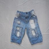 6-9 мес., р. 68-74 джинсы крутые Next фирменные джинсики в отличном состоянии