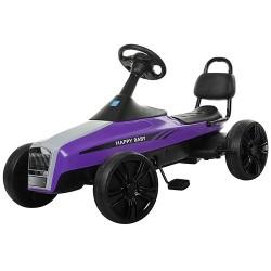Детский Карт педальный M 3412-9, фиолетовый фото №1