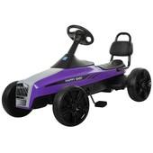 Детский Карт педальный M 3412-9, фиолетовый