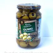 Оливки без косточек Nasza Spizarnia Oliwki Zielone 340гр. (Италия)