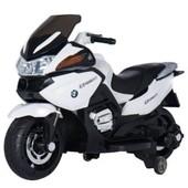 Детский электромообиль-мотоцикл T-726 white, белый