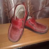 Кожаные туфельки ортопедическая стелька