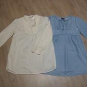 Рубашка блузка туника bona parte h&m 164 р