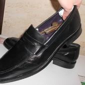 Туфли лоферы натуральная кожа. Размер 44 - 45