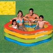 Детский надувной бассейн Морская звезда Intex 56495