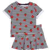 Летний костюм H&M для девочек 6-8, 8-10 лет