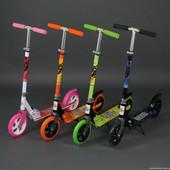 Самокаты 2-х колесные Scooter  С большими колесами