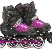 Ролики 9015 L Pink – Best Rollers /Размер 39-42