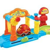 VTech Go! Go! интерактивная Автомойка smart wheels car wash playset