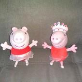 Свинка Пеппа балерина и принцесса (Peppa Pig), мягкая игрушка