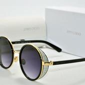Солнцезащитные очки Jimmy Choo 4996 золото сер