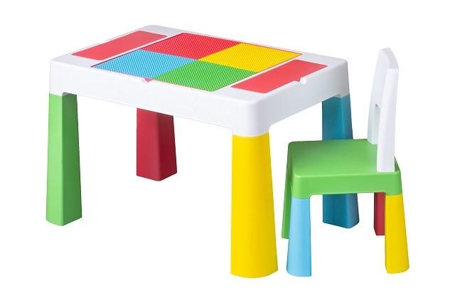 Столик і 1 стілець multifan tega baby (ikea) фото №1