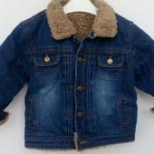 Деми  куртка джинсовая Denim Adams kids на 1.5-2года