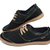 Мокасины перфорация Multi Shoes XC Black