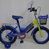 Детский двухколесный велосипед Rueda Gallop 12-14-16-18
