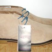 Новые замшавые лёгкие ботинки 27.5 см