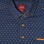 сток  большой выбор мужских рубашек разных размеров и фасонов