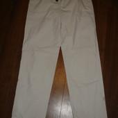 Фирменные хлопок прямые летние брюки хлопок на 46 размер