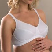 Распродажа - Бюстгальтер для беременных 40В 42В от  Mothercare белый беременным