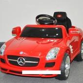 Детский электромобиль T-793 Mercedes sls amg red, красный