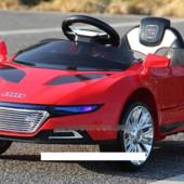 Детский электромобиль M 2448 ebr-3 Audi, мягкие колёса, амортизаторы