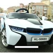 Электромобиль детский BMW 1888 (5068) белый