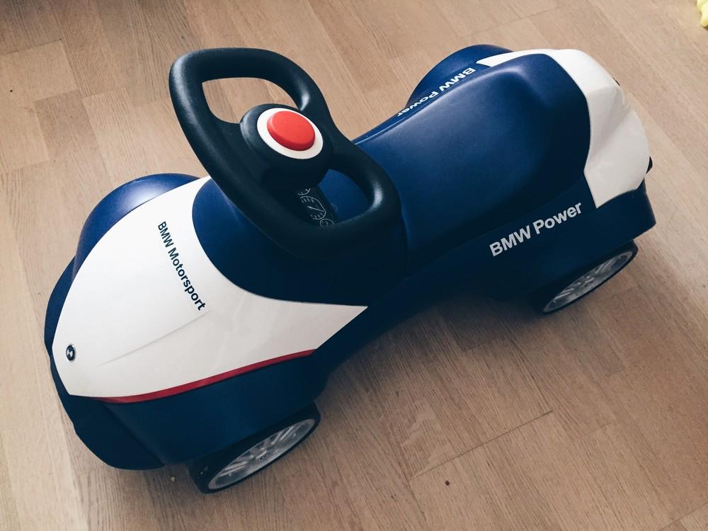 Bmw baby racer 3 / машинка каталка толокар фото №1