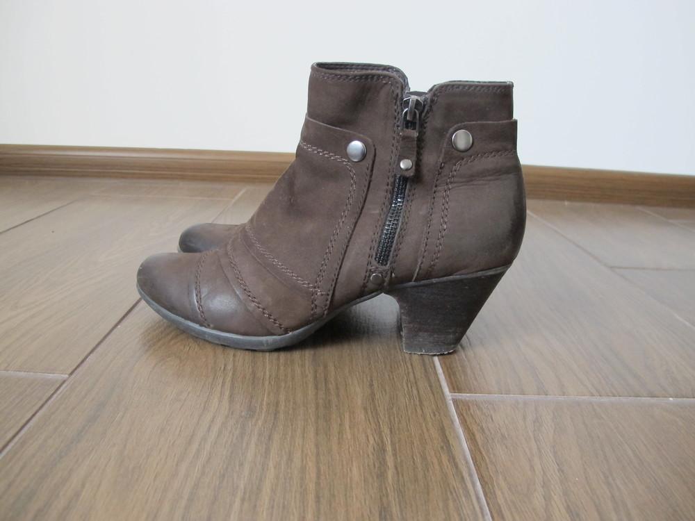 Ботинки осенние, кожа фото №1