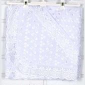 Пеленка для крещения от Татошка шитье с шитьем из шитья 115 х 95 см.