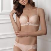 Комплект нижнего белья push-up из принтованного полотна powder Sentiment от Jasmine lingerie
