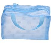 Прозрачная водозащищенная сумка-косметичка