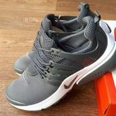 Кроссовки мужские Nike Air Presto gray 41-46р