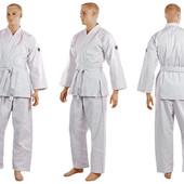 Кимоно для каратэ белое Noris 6016, хлопок: 160-190см, плотность 270