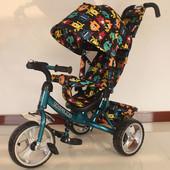 Велосипед трехколесный Tilly T-363 цвета мальчику и девочке