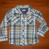 Новая рубашка на 3-5лет