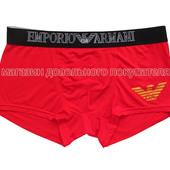 Мужские трусы боксёры Emporio Armani (EA) ткань модал размер xxl