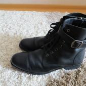 Демисезонные ботинки кожа