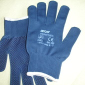 Фирменные вратарские перчатки на 7-9 размер