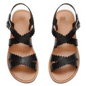 Кожаные сандали h&m,премиум качества